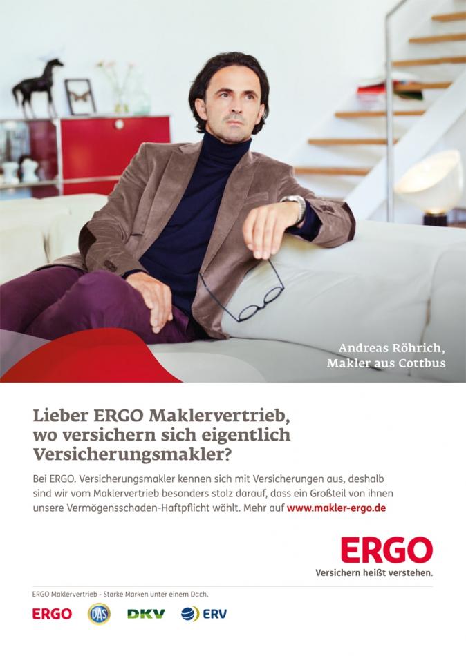 Ergo maklerkampagne lunik fotoproduktion location for Ergo berlin