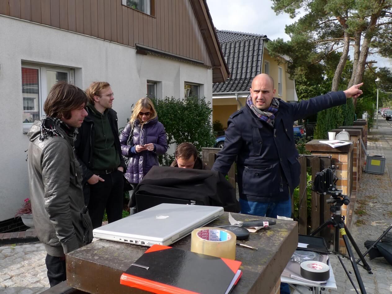 making of sparkasse lunik fotoproduktion location scouting berlin. Black Bedroom Furniture Sets. Home Design Ideas